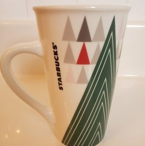 Starbucks Ceramic Christmas Mug
